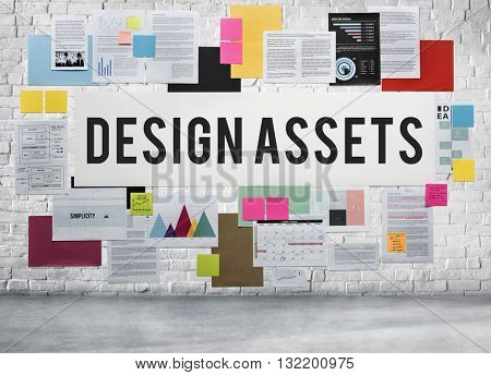 Design Assets Accounting Creative Budget Capital Concept