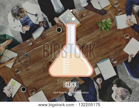 Science Research Chemistry Lab Concept