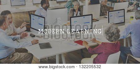 Leaning Study Improvement Development Technology Concept