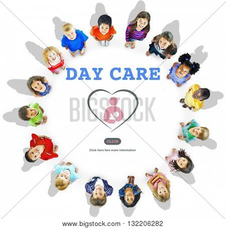 Day Care Center Child Education Kindergarten Concept