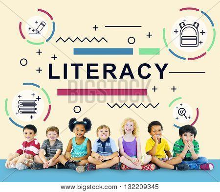 Literacy Training Schooling Study University Concept