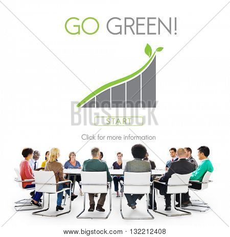 Go Green Conservation Natural Resources Eco Concept