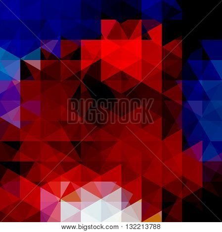 Abstract Vector Background With Triangles. Colorful Geometric Vector Illustration. Creative Design T