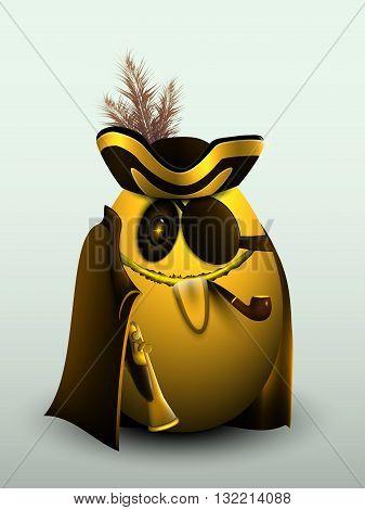 Golden Egg, Pirate Captain.