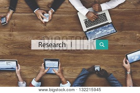 Research Discovery Exploration Facts Feedback Concept