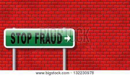 stop fraud bribe and political or police corruption money corrupt cyber or internet crime