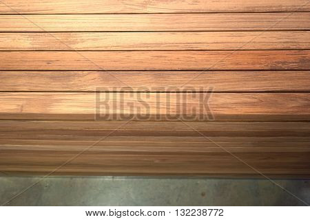 abstract of wood lath for background used