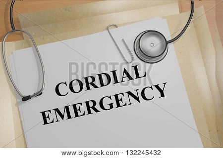 Cordial Emergency Medical Concept