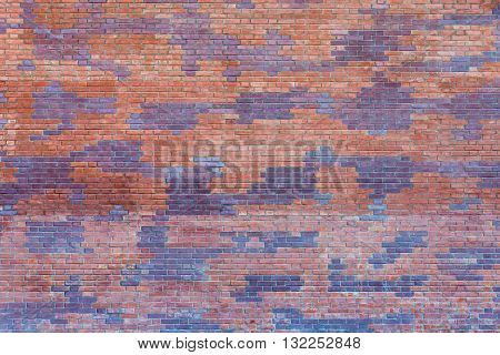 spotty brick wall for the textured background or for abstract wallpaper