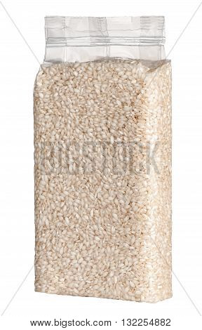 Vacuum Packed Plastic Pack Of Long Grain Rice
