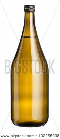 Large Unlabelled Magnum Of White Wine
