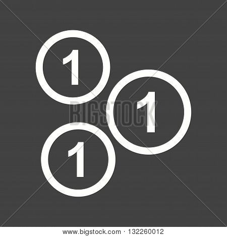 Cent, coin, currency, icon vector image.Can also be used for finances trade. Suitable for web apps, mobile apps and print media.