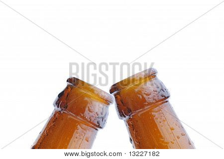 Two bottles with drops