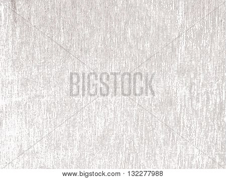Light vector texture in greu color. Rough vertical lines. Stripy background. Fabric and paper texture.