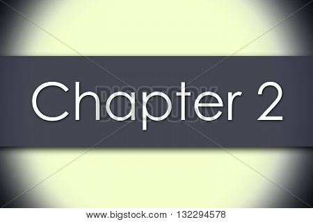 Chapter 2 - Business Concept With Text