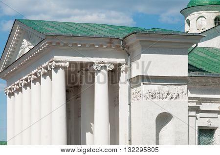 Rostov the Great Spaso-Yakovlevsky Dmitriev monastery The Cathedral of St. Dimitry Of Rostov fragment