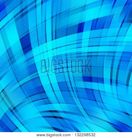 Abstract Technology Background Vector Wallpaper. Stock Vectors Illustration. Blue Color.