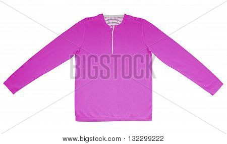 Warm Shirt With Long Sleeves - Pink