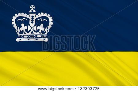 Flag of Regina is the capital city of the Canadian province of Saskatchewan
