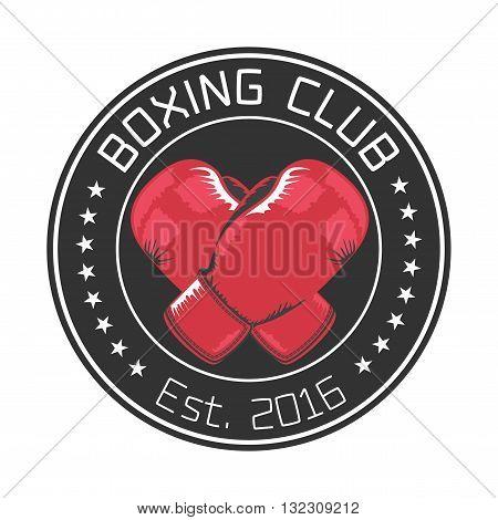 Boxing club vector logo design element. Boxing concept