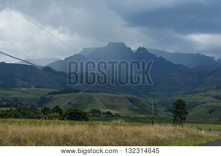 Royal Natal National Park in Drakensberg, South Africa