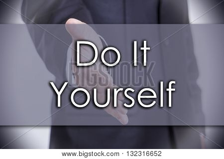 Do It Yourself - Business Concept With Text