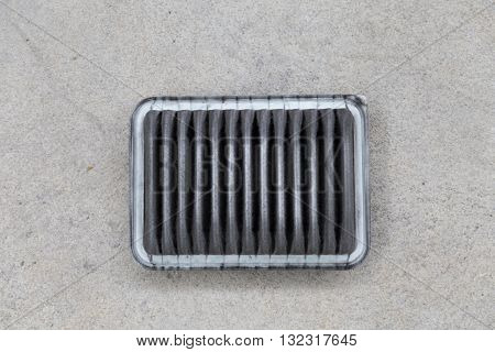Used Air Filter Of Car Automobile