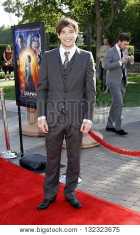 Charlie Cox at the Los Angeles premiere of 'Stardust' held at the Paramount Pictures Studios in Hollywood, USA on July 29, 2007.