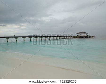 Bridge across water - connecting affinities and life.