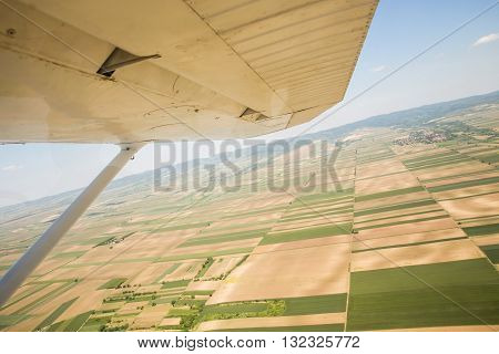 Vojvodina's Land From Sky