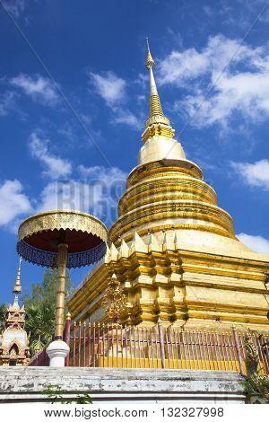 Phra That Doi Noi Temple (Wat Phra That Doi Noi) Chiangmai