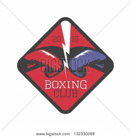 Boxing club vector design element logo. Boxing concept