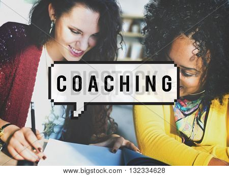 Coaching Mentoring Teaching Instructor Guidance Concept