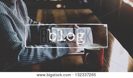 Blog Communication Web Internet Ideas Concept