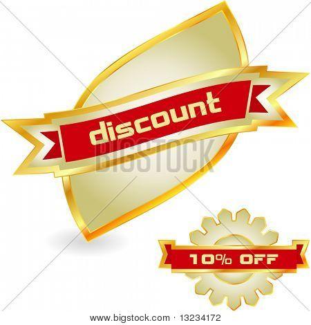 Discount label set
