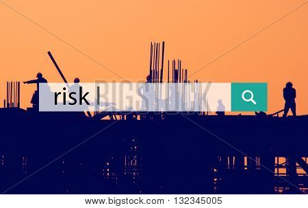 Risk Analysis Assessment Chance Danger Concept