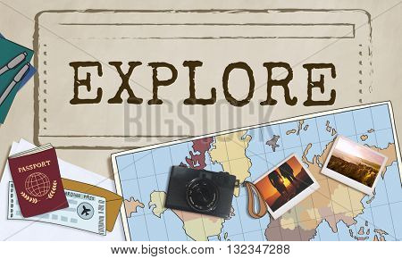 Explore Exploration Travel Journey Life Concept