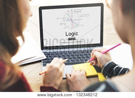 Logic Intelligence Rational Reason Solution Ideas Concept