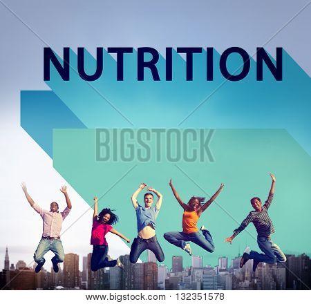 Nutrition Nutrient Nutritional  Health Wellness Concept