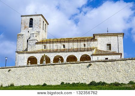 Church of Our Lady of the Assumption in Velilla Valladolid province autonomous community of Castilla y Leon Spain