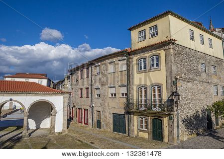 Old Houses In Ponte Da Barca