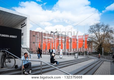 Cologne, Germany - April 17: Art Cologne is an art fair held annually in Cologne, It is regarded as the world's oldest art fair of its kind. April 17, 2015 in Cologne Germany