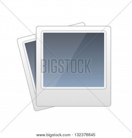 Frame foto icon, Photo sign art illustration
