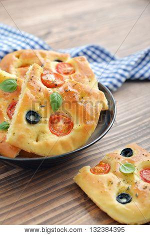 Italian Food -  Traditional Focaccia