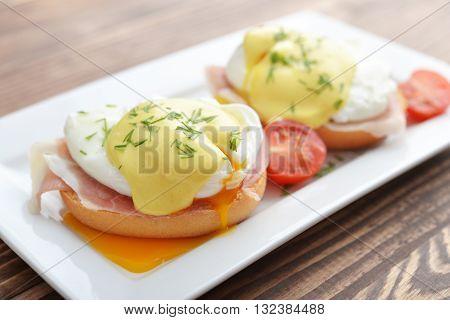 Classic Egg Benedict