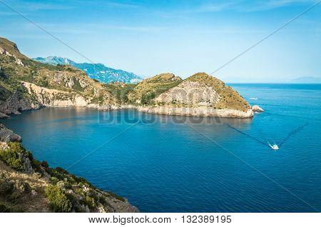 Scenic Italian Coast, Sorrento Peninsula, Cape Campanella