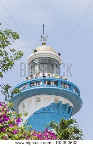 Guayaquil Cerro Santa Ana Lighthouse