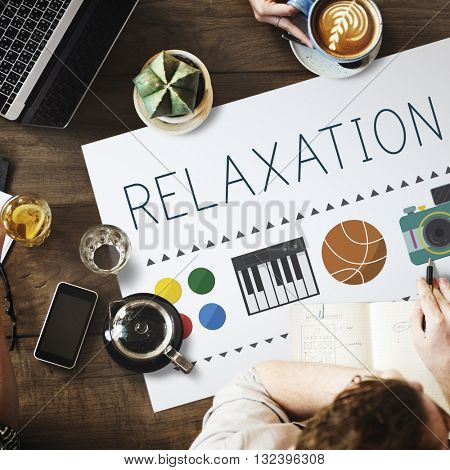 Relaxation Life Calm Chill Vacation Peace Rest Concept