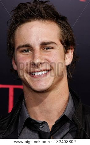 Kelly Blatz at the World premiere of 'Prom Night' held at the Arclight Theater in Hollywood, USA on April 9, 2008.