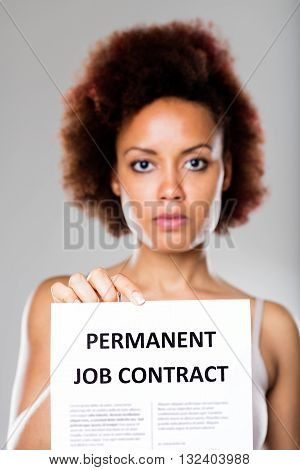 Permanent Job Contract Is Not For Everyone